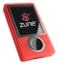Red Zune Player