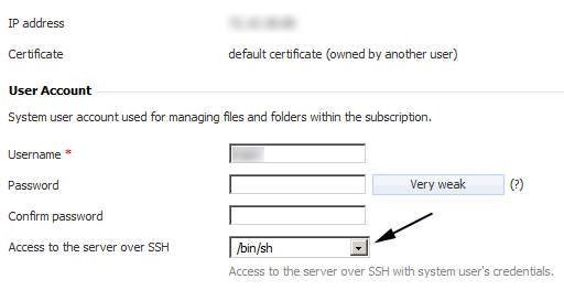 SSH Setting